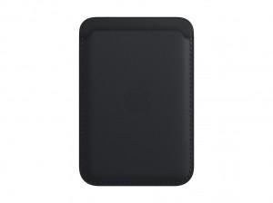 Apple Leder Wallet iPhone mit MagSafe (mitternacht)