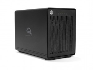 OWC ThunderBay 4 RAID Ready 4-Bay External Storage Enclosure with 2 x TB3 Ports. 4-Bay RAID ohne Softraid