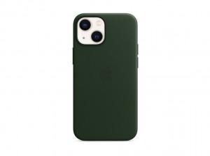Apple Leder Case iPhone 13 mini mit MagSafe (schwarzgr
