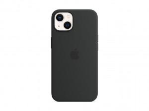 Apple Silikon Case iPhone 13 mit MagSafe (mitternacht)