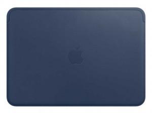 Apple Lederhülle für MacBook (mitternachtsblau)