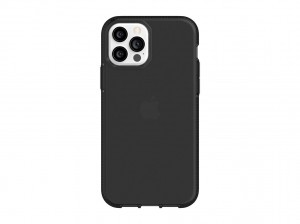 Griffin Survivor Clear for iPhone 12 & iPhone 12 Pro (black)
