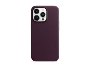 Apple Leder Case iPhone 13 Pro mit MagSafe (dunkelkirsch)