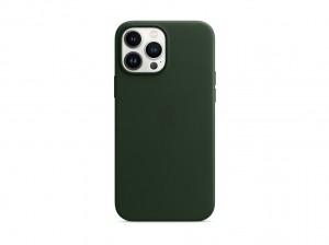 Apple Leder Case iPhone 13 Pro Max mit MagSafe (schwarzgr