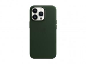 Apple Leder Case iPhone 13 Pro mit MagSafe (schwarzgrün)