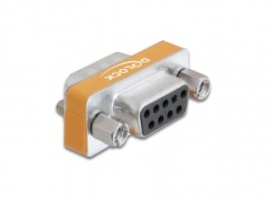 Delock Adapter Nullmodem Sub-D 9 Pin Stecker > Sub-D 9 Pin Buchse
