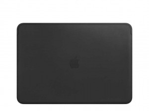 Apple Lederhülle für MacBook Pro 15 (schwarz)