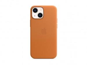Apple Leder Case iPhone 13 mini mit MagSafe (goldbraun)