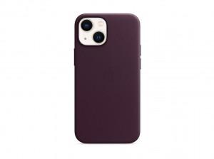 Apple Leder Case iPhone 13 mini mit MagSafe (dunkelkirsch)