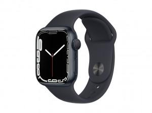 AppleWatch S7 Aluminium 41mm Mitternacht (Sportarmband mitternacht)