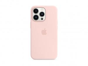 Apple Silikon Case iPhone 13 Pro mit MagSafe (kalkrosa)